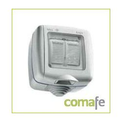 CONMUTADOR DOBLE 10A ESTANCO 3113 SOLERA IP65