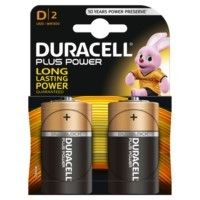 PILA DURACELL POWER PLUS D LR20 (2PZAS)