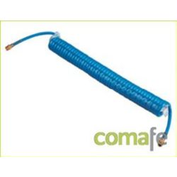 TUBO ESPIRAL FLEXIBLE POLIURETANO 6,5X9,5MM 10MT 52450023